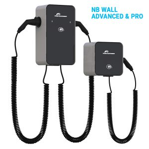 """NB Wall is a robust and attractive outdoor AC charging system, making it ideal for """"smart"""" car parks and homes. It has been designed with durability, reliability and ease of use in mind."""